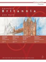 Aquarellblock Britannia 300 g/m² 12 Blatt 42x56cm
