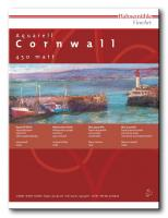 Aquarellblock Cornwall 450 g/m², 10 Blatt, 24x32cm